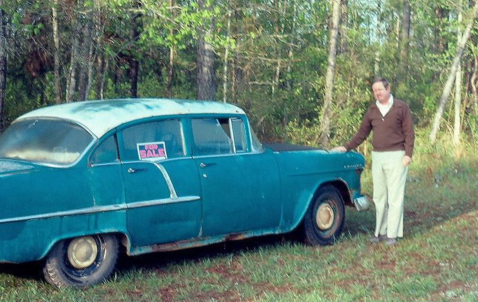 sam and his old 55 chev